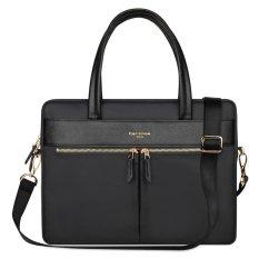 Coupon Cartinoe London Style Series Handbag Laptop Bag For Macbook Pro 15 4 Inch Black Intl