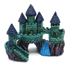Shop For Cartoon Resin Castle Aquariums Castle Decoration Aquarium Fish Tank Tower Intl