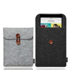 Low Price Case Cover Luxury Felt Protective Sleeve Bag Pocket Pouch For All New Kindle Paperwhite Black Intl