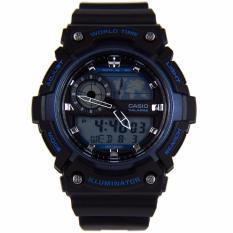 Best Casio Aeq 200W 2A World Time Men S Watch