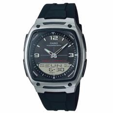 Buy Casio Analog Digital Black Resin Strap Watch Aw81 1A1 On Singapore