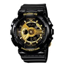 Buy Casio Baby G Ba 110 1A Sport Black Resin Strap Ladies Watch Casio Cheap