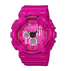 Review Casio Baby G Ba 120Sp 4A Scratch Pattern Face Ladies Watch Singapore