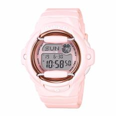 Casio Baby-G BG169 Pink Color Series Peach Resin Band Watch BG169G-4B