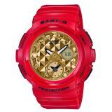 Buy Casio Baby G Bga 195Vla 4Ajf Red × Gold 10 Atm Quartz Women Watch Bga 195Vla 4A Online Hong Kong Sar China