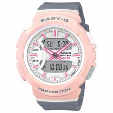 Lowest Price Casio Baby G Bga 240 Series Grey Resin Band Watch Bga240 4A2