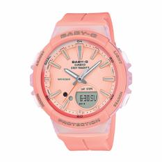Review Casio Baby G For Running Series Step Tracker Pastel Pink Resin Strap Watch Bgs100 4A Bgs 100 4A Casio Baby G