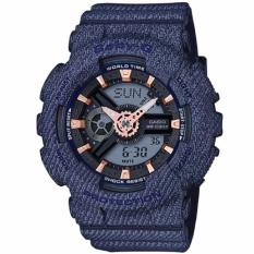 Top 10 Casio Baby G New Denim D Color Special Color Models Dark Blue Resin Band Watch Ba110De 2A1