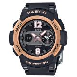 Great Deal Casio Baby G New Sporty Bga 210 Series Black Resin Strap Watch Bga210 1B