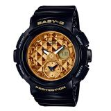 Price Comparisons Casio Baby G Round Series Black Resin Band Watch Bga195M 1A