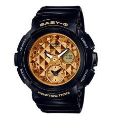 Brand New Casio Baby G Round Series Black Resin Band Watch Bga195M 1A