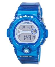 How To Buy Casio Baby G Shock Resistant Digital Women S Blue Resin Strap Watch Bg 6903 2B