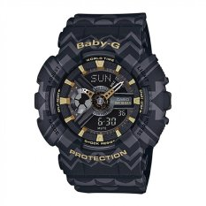 Cheapest Casio Baby G Women S Black Resin Strap Watch Ba 110Tp 1A