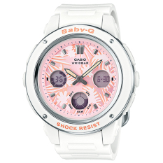 Casio Baby G Women S White Resin Strap Watch Bga150F 7A On Singapore