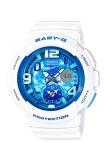Casio Baby G Women S World Time Bga 190Gl 7B White Free Shipping