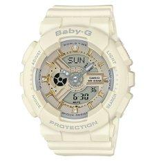 Who Sells Casio Baby G Ba 110 Series Trendy Ecru Matte Resin Band Watch Ba110Ga 7A2 Ba 110Ga 7A2