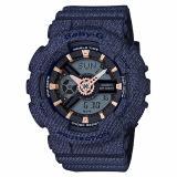 How To Buy Casio Babyg Denim Jeans Series Dark Blue With Rose Gold Index Ba110De 2A1Dr