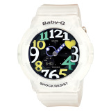 Discount Casio Babyg Translucent Case And Heart Shape Dial Bga131 7B4Dr Casio Baby G