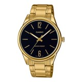 Casio Men S Standard Analog Gold Tone Stainless Steel Band Watch Mtpv005G 1B Mtp V005G 1B In Stock