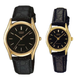 Discount Casio Couple Leather Watch Ltp1094Q 1A Mtp1094Q 1A Casio
