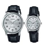 Brand New Casio Couple Leather Watch Ltpv001L 7B Mtpv001L 7B