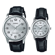 Get Cheap Casio Couple Leather Watch Ltpv001L 7B Mtpv001L 7B