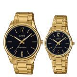 Price Casio Couple Stainless Steel Watch Ltpv005G 1B Mtpv005G 1B Casio Online