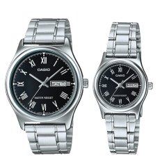 Get The Best Price For Casio Couple Stainless Steel Watch Ltpv006D 1B Mtpv006D 1B