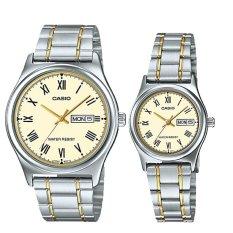 Sale Casio Couple Stainless Steel Watch Ltpv006Sg 9B Mtpv006Sg 9B Casio Online