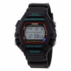 Casio Digital Casual Sports Men S Black Resin Strap Watch Dw 290 1V Dw290 Singapore
