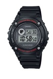 For Sale Casio Digital Men S Black Rubber Strap Watch W216H 1A