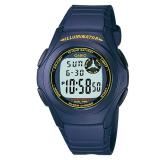 Sale Casio Men S Standard Digital Blue Resin Band Watch F200W 2B F 200W 2B On Singapore