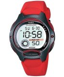 Casio Digital Sports Illuminator Women S Red Resin Strap Watch Lw 200 4Avdf Casio Discount