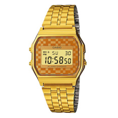 Price Casio Digital Women S Gold Stainless Steel Watch A159Wgea 9A Singapore