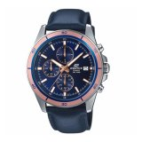 Price Comparisons Casio Edifice Efr 526L 2A Genuine Leather Band Blue Watch Intl