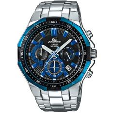 Compare Price Casio Edifice Efr 554D 1A2 Stainless Steel Analog Chronograph Men S Watch On Singapore