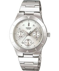 Low Cost Casio Enticer Analog Quartz Women S Silver Tone Stainless Steel Strap Watch Ltp 2083D 7Avdf