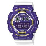 Casio G Shock Standard Digital White Resin Watch Gd120Cs 6D Gd 120Cs 6D Casio G Shock Discount