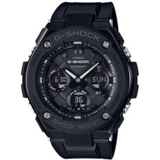 Low Price Casio G Shock G Steel Analog Digital World Time Men S Black Resin Strap Watch Gst S100G 1B