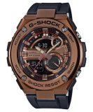 Casio G Shock G Steel Analog Digital World Time Men S Resin Strap Watch Gst 210B 4A Shopping
