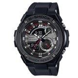 Price Casio G Shock G Steel Series Layer Guard Structure Black Resin Strap Watch Gst210B 1A Online Singapore