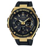 Coupon Casio G Shock G Steel Tough Solar Black Resin Band Watch Gsts100G 1A