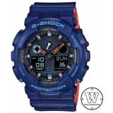 Price Casio G Shock Ga 100L 2A Blue Casio G Shock Original