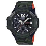 New Casio G Shock Ga 1100Sc 3A Gravity Master In Olive Drab Analog Digital Men Watch