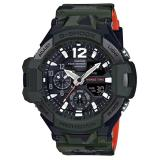 Discounted Casio G Shock Ga 1100Sc 3A Gravity Master In Olive Drab Analog Digital Men Watch