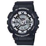 Discount Casio G Shock Ga 110Bw 1A Black Series Watch