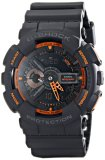 Latest Casio G Shock Ga 110Ts 1A4 Analog Digital Watch With Grey Resin Band