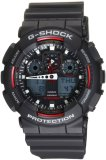 Casio G Shock Ga100 1A4 Ana Digi World Time Black Dial Men S Watch Coupon