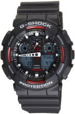 Discount Casio G Shock Ga100 1A4 Ana Digi World Time Black Dial Men S Watch Hong Kong Sar China