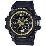 Casio G Shock Men S Black And Gold Resin Strap Watch Gg 1000Gb 1A On Line